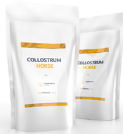 Colostrum complex for competing horses